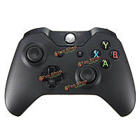Черный беспроводной контроллер геймпад радость площадкой для ПК Microsoft XBOX один