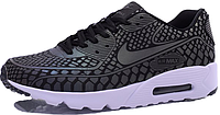 Мужские кроссовки Nike Air Max 90 Light Reflection Найк Аир Макс 90 серые
