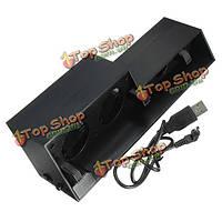 USB внешний турбо контроль температуры охлаждения 5 вентилятор кулер для PlayStation 4 PS4
