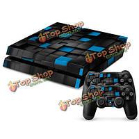 Проверить кожи наклейка крышка для PS4 консоли PlayStation 4 контроллер винила