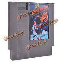 3-D битвы worldrunner 72 контактов 8бит карточная игра картридж для NES Нинтендо