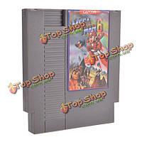 Мега человек 6 72 контактный разъем 8 бит картриджа игра карты для NES Нинтендо