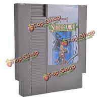 - Квест 72 контактный 8 бит картридж карточная игра Симонова для NES Нинтендо II Castlevania