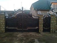 Кованые ворота (Шенглас)