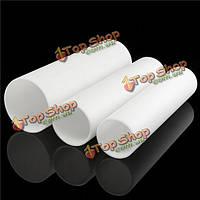 500мм белый пластиковые трубы круглой воздуховоды водосточной трубы вентиляции протока трубки