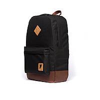 Рюкзак FARABACK Classic Black-Brown, фото 1