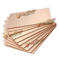 10шт односторонние медные clads Печатные платы 70x100x1.5мм доски одного из стекловолокна
