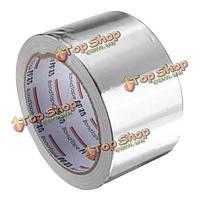 60мм х 25м серебро алюминиевой фольги ленты жары отражения самоклеящаяся уплотнительная лента