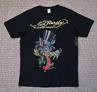 ED HARDY футболка со стразами ОРИГИНАЛ (L-XL)