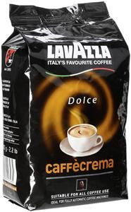 Кава в зернах Lavazza Caffecrema Dolce 1кг.