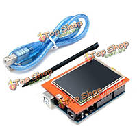 UNO R3 ATmega328P Совет + 24-дюймов TFT жидкокристаллический экран для Arduino