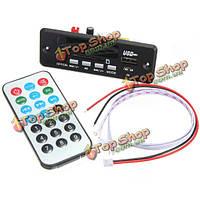 7-12В громкая связь Bluetooth  MP3-декодер доска с модулем Bluetooth +FM радио