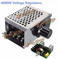 Регулятор скорости электродвигателя 4000Вт 220В