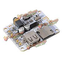 Bluetooth  аудио приемник цифровой усилитель плата с USB-портом TF карта декодирования слот игры