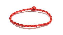 Браслет Красная нить на запястье