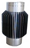 Труба-радиатор из нержавеющей стали (Aisi 201) 0,8мм Ø120, 1м