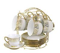 Чайный набор на 6 персон Bohmann BHP 1863 Фарфор