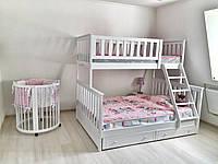 Двухъярусная кровать трансформер  - Jasmin+, фото 1