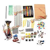 Электронные составные части пакета стартовый комплект новичка для ардуино Уно