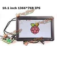 10.1-дюймов цифровой ЖК-экран  IPS-дисплей комплект 1366*768 монитор для Raspberry пи