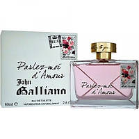 John Galliano Parlez-Moi D`Amour edt 80 ml. w оригинал