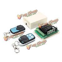 12В 10А 315МГц 4-канальный обучение код беспроводной пульт дистанционного управления переключатель