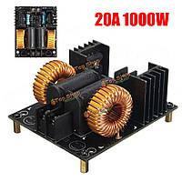 Плата модуль индукционного нагрева обратного хода нагревателя драйвера ZVS 1000Вт 20А