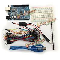 UNO R3 модуль мини-макетная комплект перемычку стартер для основной Arduino
