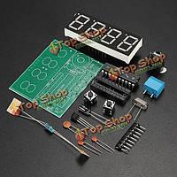 С51 4 бита электронные часы электронные производства сюиты DIY комплекты