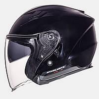 Открытый шлем MT Avenue Black с очками