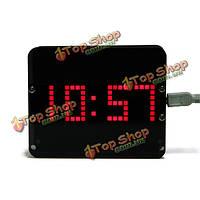 DIY ds3231 Гравитация датчика LED Цифровые Часы Phantom комплект