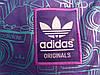 Рюкзак Adidas фиолетовый с изображением голубых фотоаппаратов (реплика), фото 3