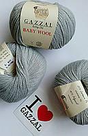Gazzal Baby Wool - 817 светло-серый