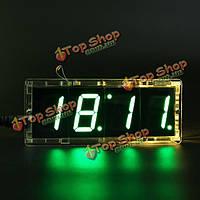 Поделки 4 цифры LED набор электронных часов с функцией управления светом Vioce