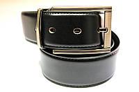 Ремень кожаный двухсторонний 40 мм №1