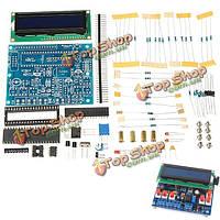 Набор частот тестер измеритель secohmmeter емкости индуктивности LCD1602 поделки многофункциональный