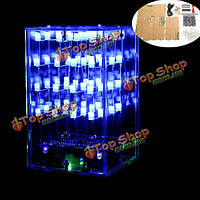 4x4x4 LED поделок комплект Arduino совместимый Программируемая LED флэш-cube4 комплект