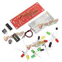3шт cd4017 голосовое управление LED мигающий комплект электронного DIY
