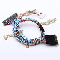 40-контактный 2 канал 6бит LED ЖК-экран интерфейс lvds кабель