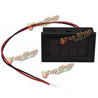 Постоянного тока 0.28 дюйма 30v / 100v 10a / 100a цифровой вольтметр амперметр LED Панель