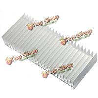 5шт 150x60x25мм алюминиевый теплоотвод радиатор охлаждения