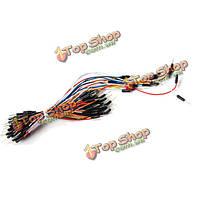 10X 65шт мужчинами технологический комплект проводов соединительного кабеля хлеб плате провода