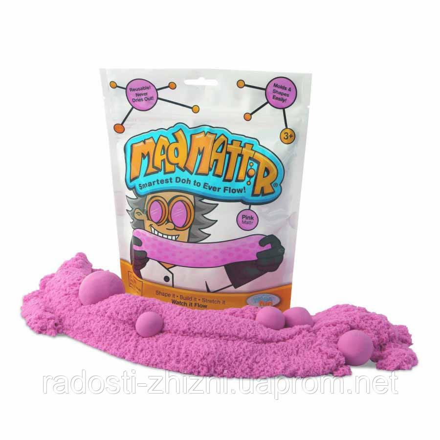 Нано Кинетический песок Mad Mattr, розовый Waba Fun