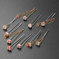 100шт 5мм gl5528 свет зависит резистор фоторезистор LDR