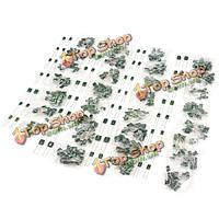 620шт ± 10% 100В майларовое пленочный конденсатор 31 значение сортировали комплект 2a102j-2a822j