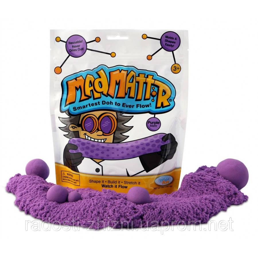Нано Кинетический песок Mad Mattr, фиолетовый Waba Fun