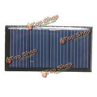 2v 0.18w 90мА 58.5x30.5x3.0мм поликристаллического кремния панели солнечных батарей эпоксидной смолы