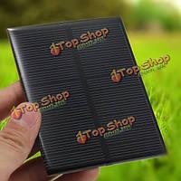 5V 1.2W монокристаллического 104мм x 80мм 240мА мини-солнечные фотоэлектрические панели