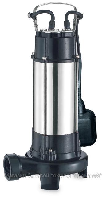 Насос Aquatica канализационный 1.3Вт 12м 300л/мин нож