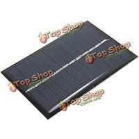 6V 100мА 0.6W поликристаллического Mini эпоксидной панели солнечных фотоэлектрические панели